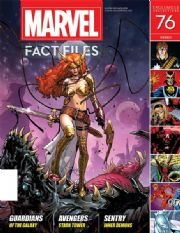 Marvel Fact Files #76 Eaglemoss Publications